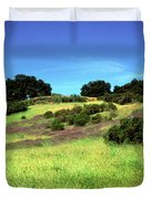 Splendor in the Grass Duvet Cover by Kathy Yates