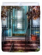 Spring - Door - Apartment Duvet Cover by Mike Savad