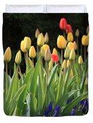 Spring Garden Duvet Cover by Carol Groenen
