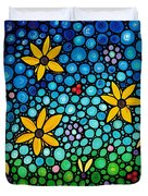Spring Maidens Duvet Cover by Sharon Cummings