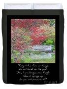 Spring Revival Duvet Cover by Carol Groenen
