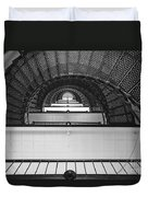 St. Augustine Lighthouse Spiral Staircase IIi Duvet Cover by Clarence Holmes