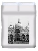 St. Marks Duvet Cover by Donna Corless