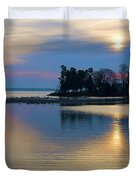 St. Michael's Sunrise Duvet Cover by Bill Cannon