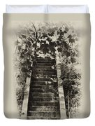 Stairway To Heaven Duvet Cover by Bill Cannon
