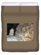 Stalactite Formations Duvet Cover by Michal Boubin