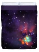 Star Cluster Duvet Cover by Corey Ford
