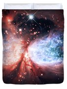 Star Gazer Duvet Cover by The  Vault - Jennifer Rondinelli Reilly