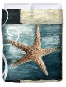 Starfish Spell Duvet Cover by Lourry Legarde