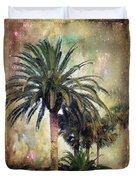 Starry Evening In St. Augustine Duvet Cover by Jan Amiss Photography