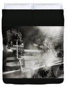 Steam Power Duvet Cover by Richard Rizzo