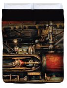 Steampunk - No 8431 Duvet Cover by Mike Savad