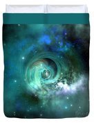 Stellar Matter Duvet Cover by Corey Ford