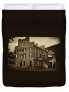 Stephensons Hotel - Harpers Ferry  West Virginia Duvet Cover by Bill Cannon