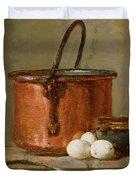 Still Life Duvet Cover by Jean-Baptiste Simeon Chardin