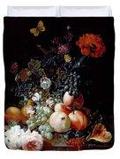 Still Life  Duvet Cover by Johann Amandus Winck