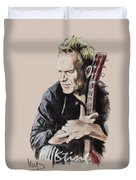 Sting Duvet Cover by Melanie D