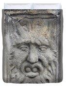 Stone Face Duvet Cover by Michal Boubin