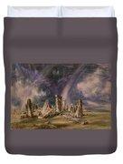Stonehenge Duvet Cover by John Constable