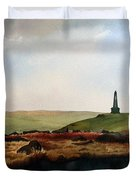 Stoodley Pike Duvet Cover by Paul Dene Marlor