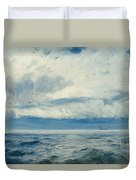 Storm Brewing Duvet Cover by Henry Moore
