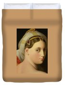 Study For An Odalisque Duvet Cover by Ingres