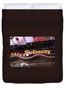 Subway Duvet Cover by Rob Hans