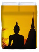 Sukhothai Temple Duvet Cover by Gloria & Richard Maschmeyer - Printscapes