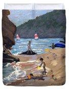 Summer In Spain Duvet Cover by Andrew Macara