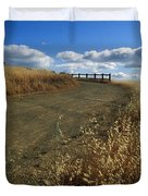 Summer Road Duvet Cover by Kathy Yates