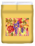 Summers Fullest Duvet Cover by Connie Valasco
