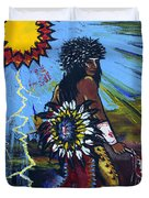 Sun Dancer Duvet Cover by Karon Melillo DeVega