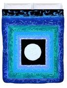 Sun Spots Detail Duvet Cover by John Lautermilch