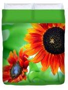 Sunflowers  Duvet Cover by Mark Ashkenazi