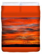Sunrise In Ithaca Duvet Cover by Paul Ge