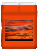 Sunrise In Ithaca Duvet Cover by Paul Ge