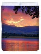 Sunset 6.27.10 - 28 Duvet Cover by James BO  Insogna