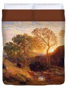 Sunset Duvet Cover by Samuel Palmer