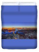Surreal Alstrom Duvet Cover by Chad Dutson