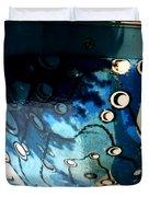 Swimming Pool Mural 2 Duvet Cover by Rachel Christine Nowicki