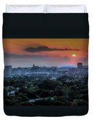 Syracuse Sunrise Duvet Cover by Everet Regal