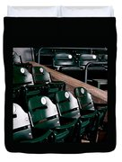 Take Me Out To The Ball Game Duvet Cover by Michelle Calkins
