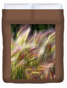Tall Grass Duvet Cover by Marty Koch