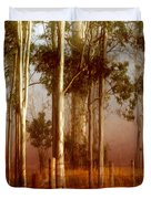 Tall Timbers Duvet Cover by Holly Kempe