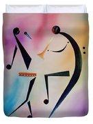 Tambourine Jam Duvet Cover by Ikahl Beckford