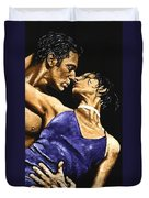 Tango Heat Duvet Cover by Richard Young