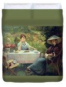 Tea Time Duvet Cover by Jacques Jourdan
