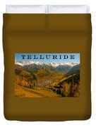 Telluride Colorado Duvet Cover by David Lee Thompson