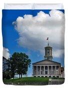 Tennessee State Capitol Nashville Duvet Cover by Susanne Van Hulst