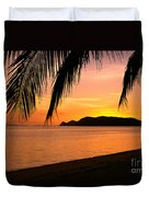Thailand, Koh Pagan Duvet Cover by William Waterfall - Printscapes